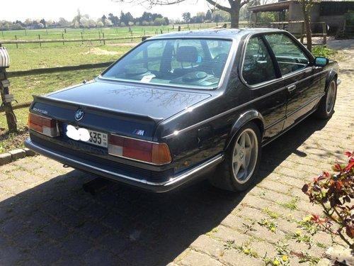 1985 BMW M635 CSI Kompressor SOLD (picture 5 of 5)