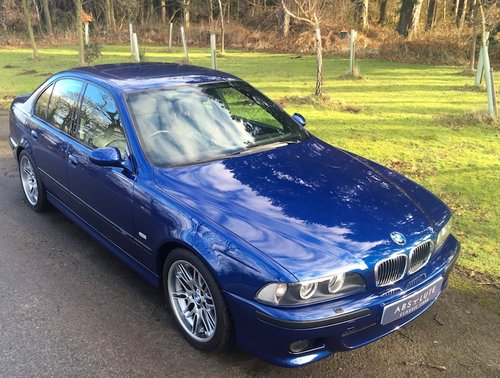 2000 BMW E39 M5 - Stunning, FSH, Cherished M5 plate  SOLD (picture 1 of 6)