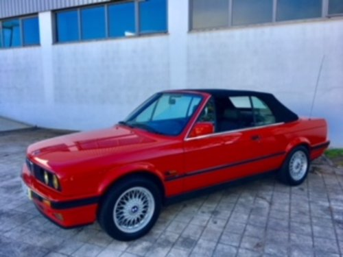 BMW 318 i Cabrio 1992 35000km For Sale (picture 2 of 6)