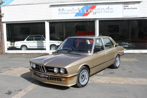 1981 BMW E12 M535i - Restored For Sale (picture 1 of 6)