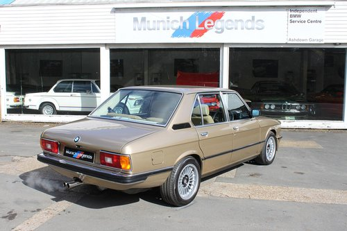 1981 BMW E12 M535i - Restored For Sale (picture 2 of 6)