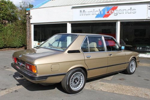 1981 BMW E12 M535i - Restored For Sale (picture 6 of 6)