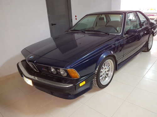 1987 BMW M6 E24 For Sale (picture 1 of 5)