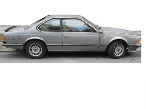 1985 BMW 635CSI with 60000km original SOLD (picture 1 of 6)