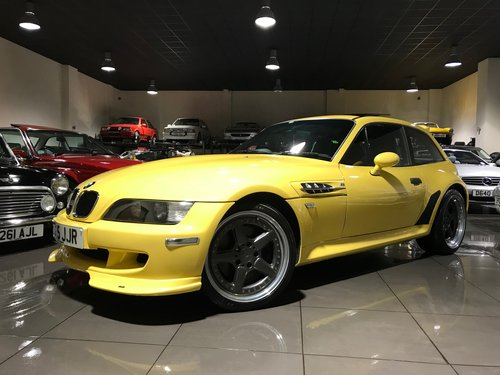 1999 BMW M Coupe Z3M Coupe with AC Schnitzer Body Kit For Sale (picture 1 of 6)