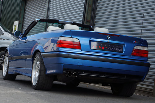 1999 BMW E36 M3 Evo Cab, 97k, Estoril, Grey Leather, Air Con, HK, SOLD (picture 3 of 6)