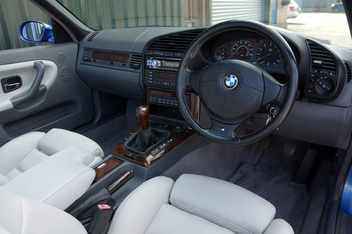 1999 BMW E36 M3 Evo Cab, 97k, Estoril, Grey Leather, Air Con, HK, SOLD (picture 4 of 6)