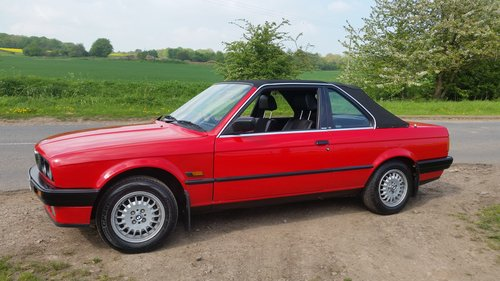 1990  BMW E30 316i Convertible/Cabriolet  TC Baur roof For Sale (picture 2 of 6)