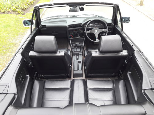 1990 BMW E30 325i Cabriolet Convertible Auto ***Concours*** SOLD (picture 3 of 6)