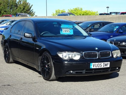 2005 BMW 7 Series 3.0 730d Sport 4dr FACE LIFT + HUGE SPEC For Sale (picture 1 of 6)