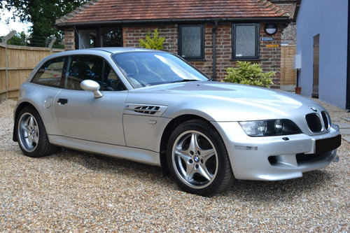 2001 BMW S54 Z3M Coupe,  Only 32,000 miles SOLD (picture 1 of 6)