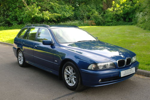 2003 BMW 525 Diesel SE Touring. Auto.. Low Miles.. Nice Example.. SOLD (picture 1 of 6)
