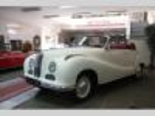 BMW 501 Cabriolet V8, 1954 For Sale (picture 1 of 6)