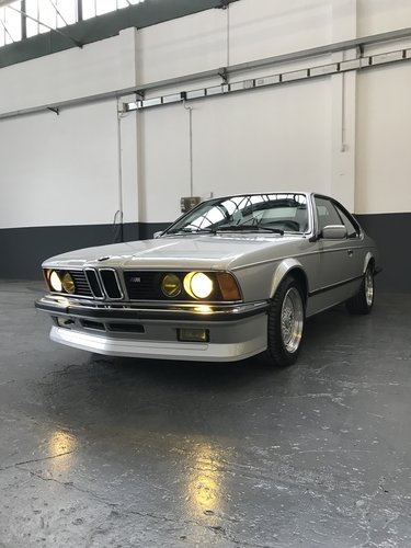 1985 BMW M635 CSI (M6) concours restoration For Sale (picture 1 of 6)