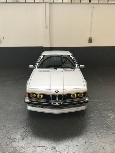 1985 BMW M635 CSI (M6) concours restoration For Sale (picture 2 of 6)