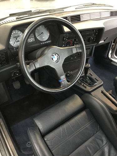 1985 BMW M635 CSI (M6) concours restoration For Sale (picture 4 of 6)