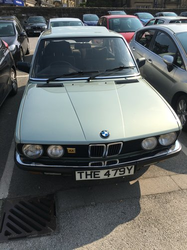 1982 BMW e28 528i manual For Sale (picture 1 of 4)