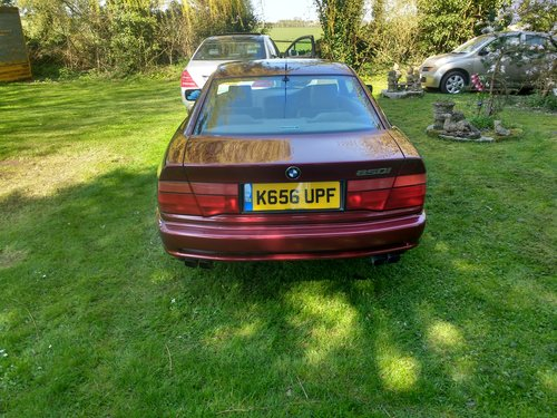 1992 BMW 850i For Sale (picture 4 of 6)