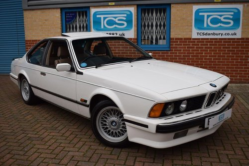 1988 BMW 635CSI Highline Coupe Automatic SOLD (picture 1 of 6)