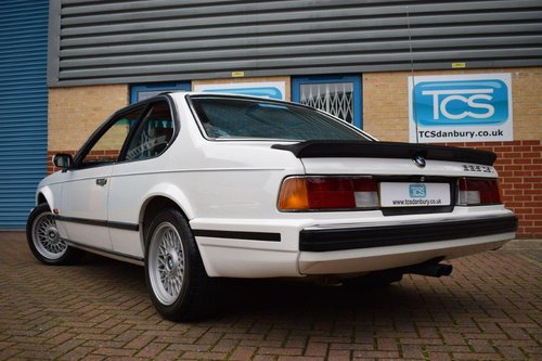 1988 BMW 635CSI Highline Coupe Automatic SOLD (picture 2 of 6)