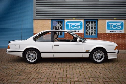 1988 BMW 635CSI Highline Coupe Automatic SOLD (picture 3 of 6)