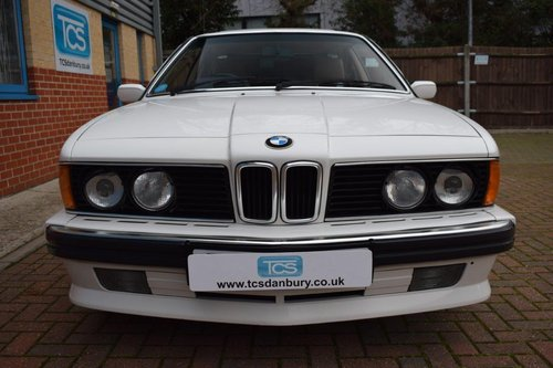 1988 BMW 635CSI Highline Coupe Automatic SOLD (picture 4 of 6)
