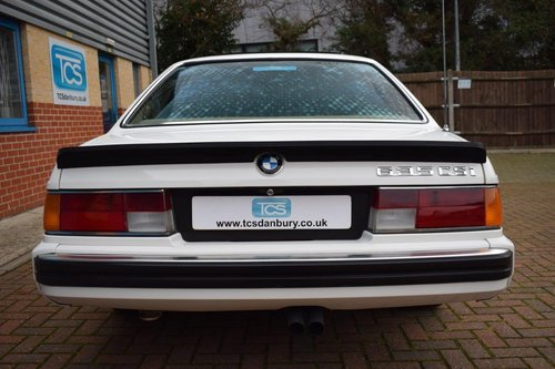 1988 BMW 635CSI Highline Coupe Automatic SOLD (picture 5 of 6)