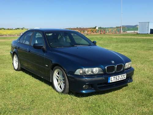 2003 BMW 530i Sport Aegean Edit A at Morris Leslie 23rd February  SOLD by Auction (picture 1 of 6)