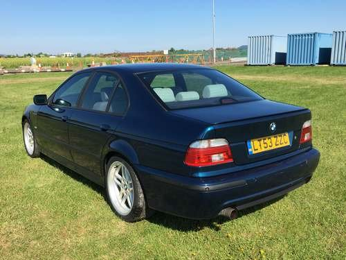 2003 BMW 530i Sport Aegean Edit A at Morris Leslie 23rd February  SOLD by Auction (picture 2 of 6)