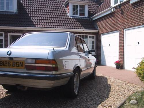 1984 BMW E28 520i Auto 11m MOT SOLD (picture 3 of 6)
