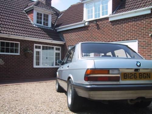 1984 BMW E28 520i Auto 11m MOT SOLD (picture 4 of 6)