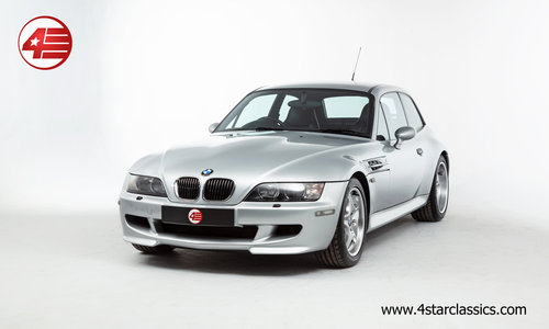 2001 BMW Z3M Coupe S54 /// 1/165 RHD S54 M Coupes /// 68k Miles For Sale (picture 1 of 6)