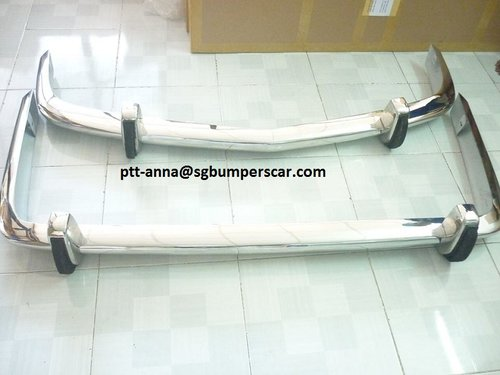 BMW 1500-2000NK Stainless Steel Bumper (1962-1972) For Sale (picture 1 of 2)