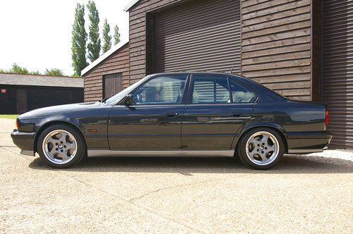 1993 BMW E34 M5 3.8 Saloon 5 Speed Manual (104,968 miles) SOLD (picture 1 of 6)