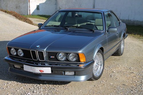 1984 BMW M635 CSI / 286 BHP! SOLD (picture 1 of 6)
