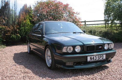 1995 BMW 525tds E34 Sport Kit Black Leather For Sale (picture 1 of 6)
