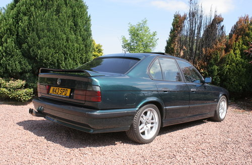 1995 BMW 525tds E34 Sport Kit Black Leather For Sale (picture 3 of 6)