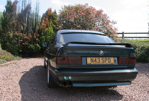 1995 BMW 525tds E34 Sport Kit Black Leather For Sale (picture 4 of 6)