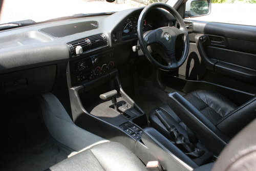 1995 BMW 525tds E34 Sport Kit Black Leather For Sale (picture 5 of 6)