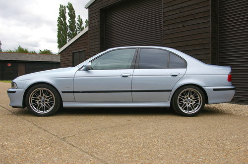 2001 BMW E39 M5 4.9 V8 Saloon Manual LHD (55,923 miles) SOLD (picture 1 of 6)