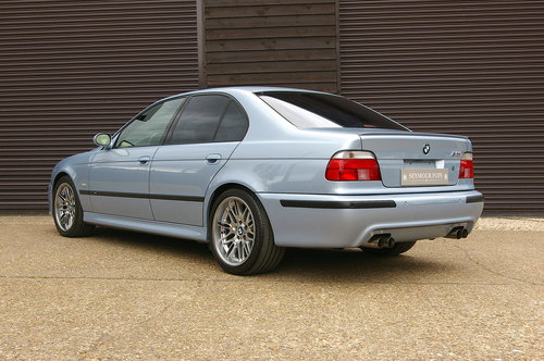 2001 BMW E39 M5 4.9 V8 Saloon Manual LHD (55,923 miles) SOLD (picture 3 of 6)