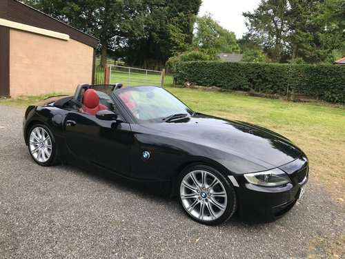 2006 '56' BMW Z4 2.0 M SPORT BLACK/RED 50K STUNNING!!! SOLD (picture 1 of 6)