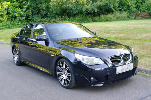 BMW 530d M Sport. Auto. Low Miles. FSH. Stunning Example.. SOLD (picture 1 of 6)