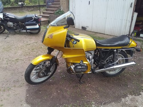 Bmw R100rs For Sale Car And Classic