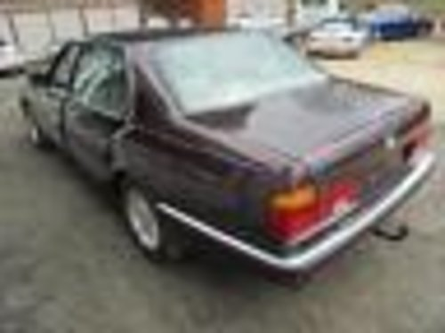 Unregistered 1991 BMW 750iL 3,515 miles from new For Sale (picture 3 of 6)