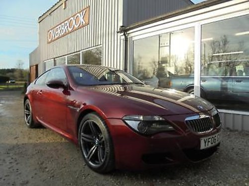 2006 BMW M6 5.0 V10 SMG FULL BMW MAIN DEALER SERVICE HISTORY For Sale (picture 1 of 1)