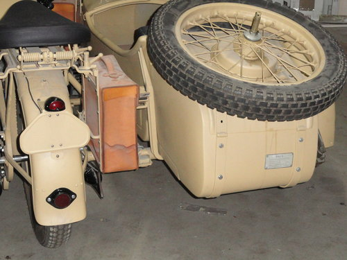 1938 BMW R12 Militar with sidecar For Sale (picture 3 of 6)