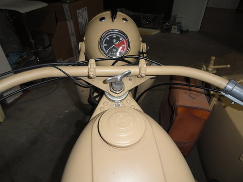 1938 BMW R12 Militar with sidecar For Sale (picture 5 of 6)