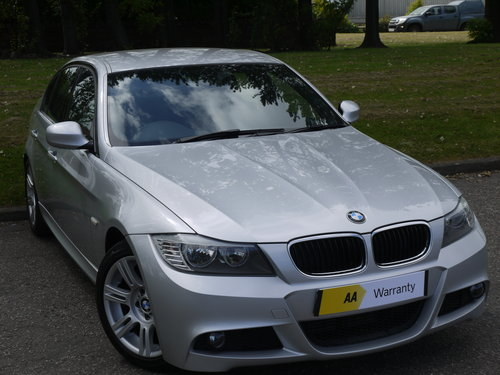 2010 BMW 3 Series 2.0 318d M Sport Automatic 4dr **FULL SERVICE H For Sale (picture 1 of 6)