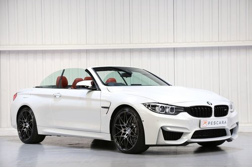 2018 BMW M4 Convertible Competition Package - One Owner  For Sale (picture 1 of 6)